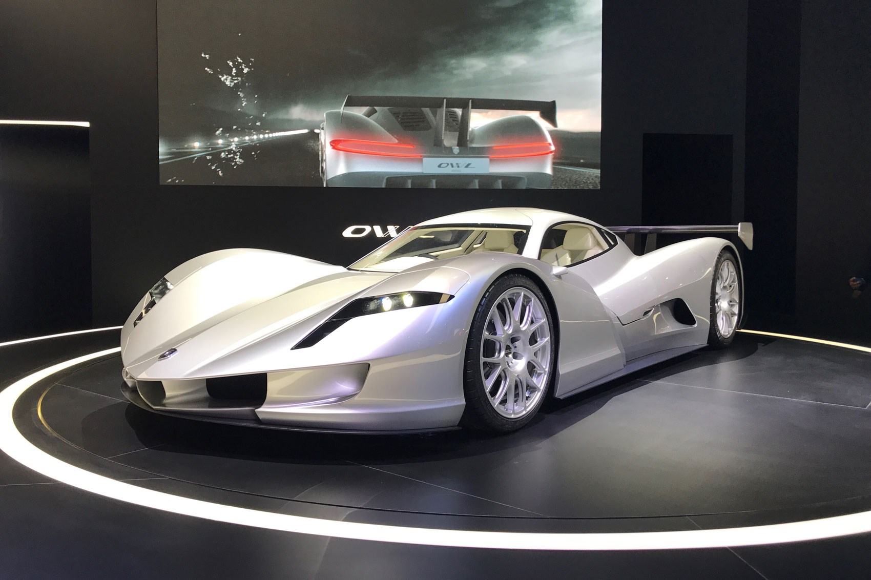 Aspark Owl Japanese Electric Hypercar Shows Tesla