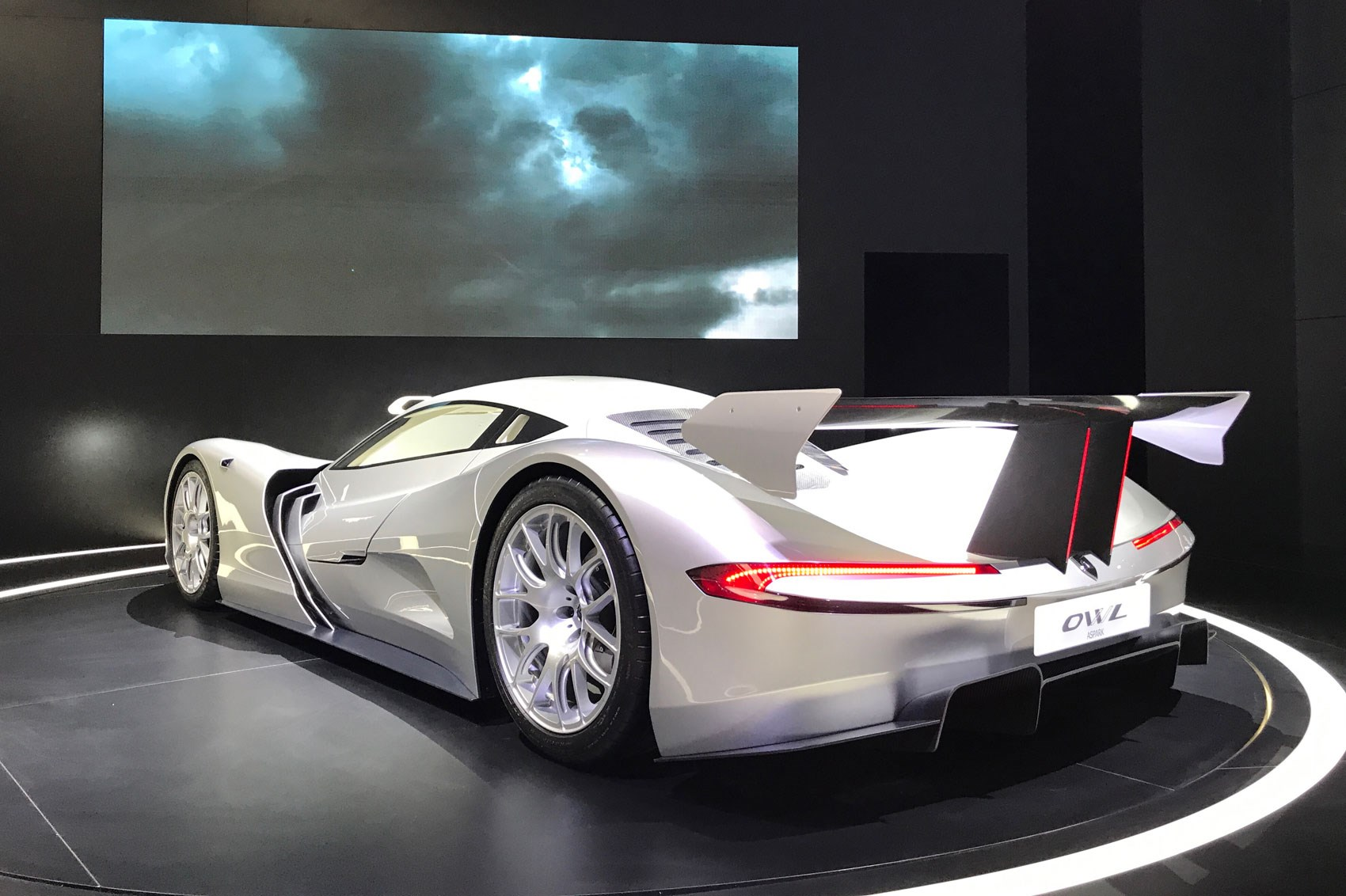 All Electric Hyper Car