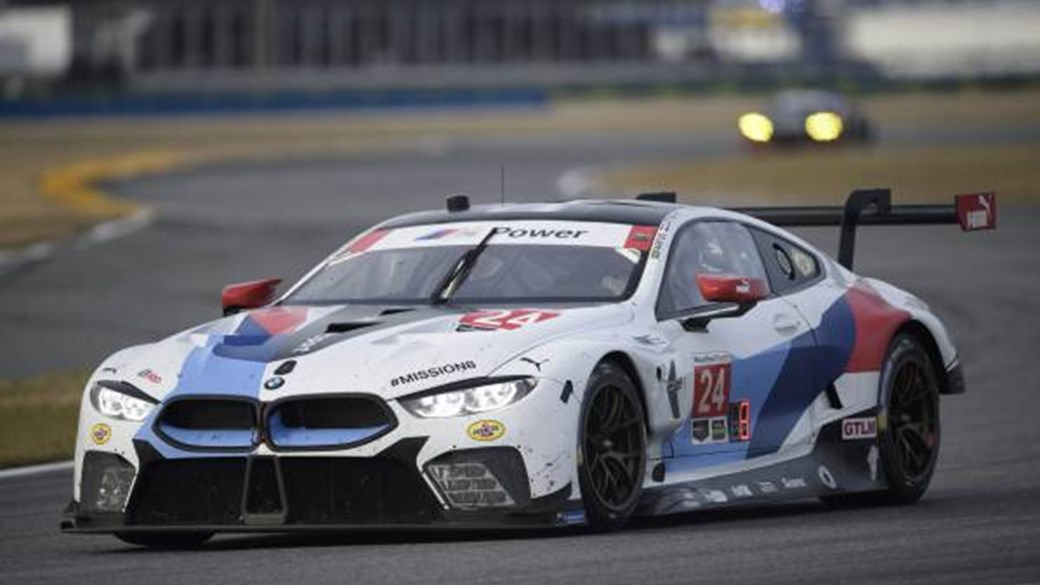 M8 Gte Track Going Bmw 8 Series Completes Daytona 24