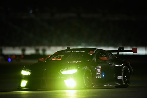 BMW M8 GTE night