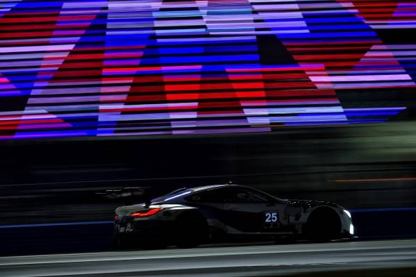 M8 Gte Track Going Bmw 8 Series Completes Daytona 24 Car Magazine