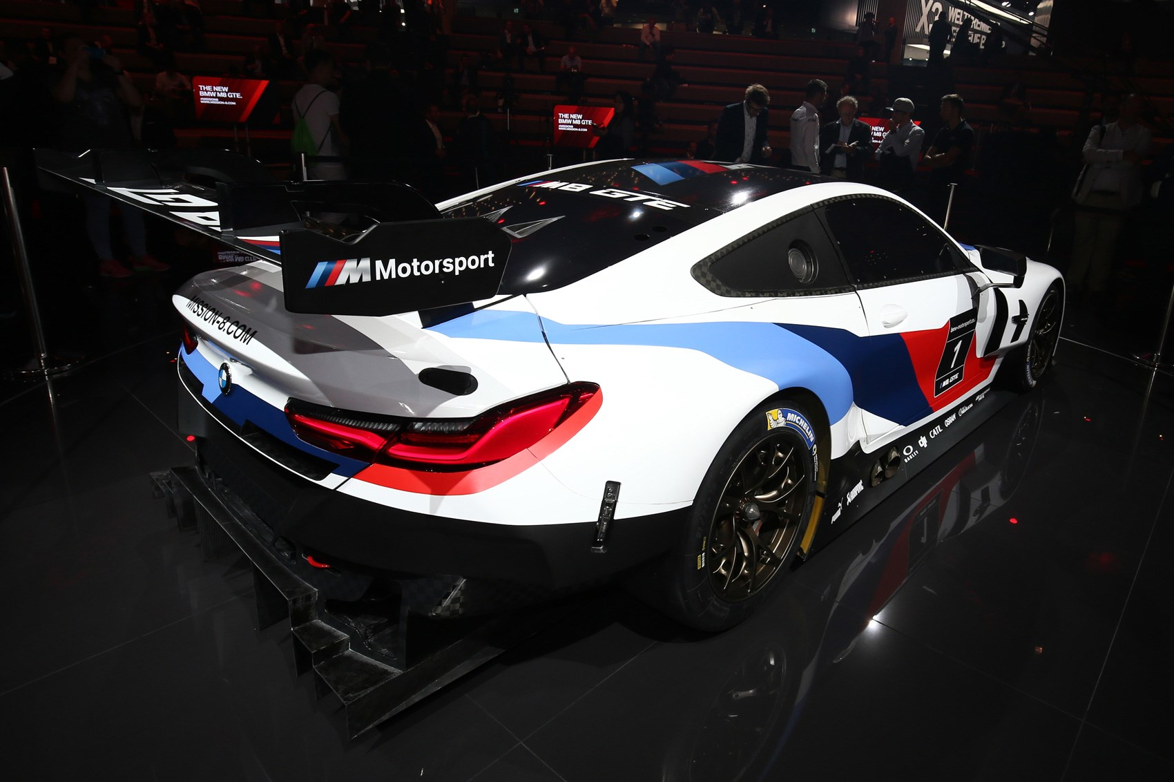 the 8 series brings its a game new bmw m8 gte unveiled by car magazine. Black Bedroom Furniture Sets. Home Design Ideas
