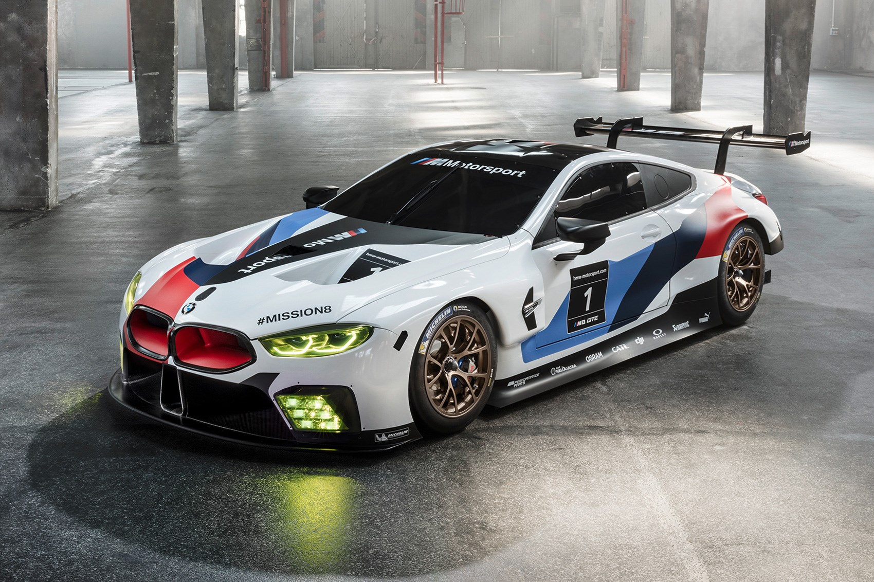 M8 Gte Track Going Bmw 8 Series Completes Daytona 24 By