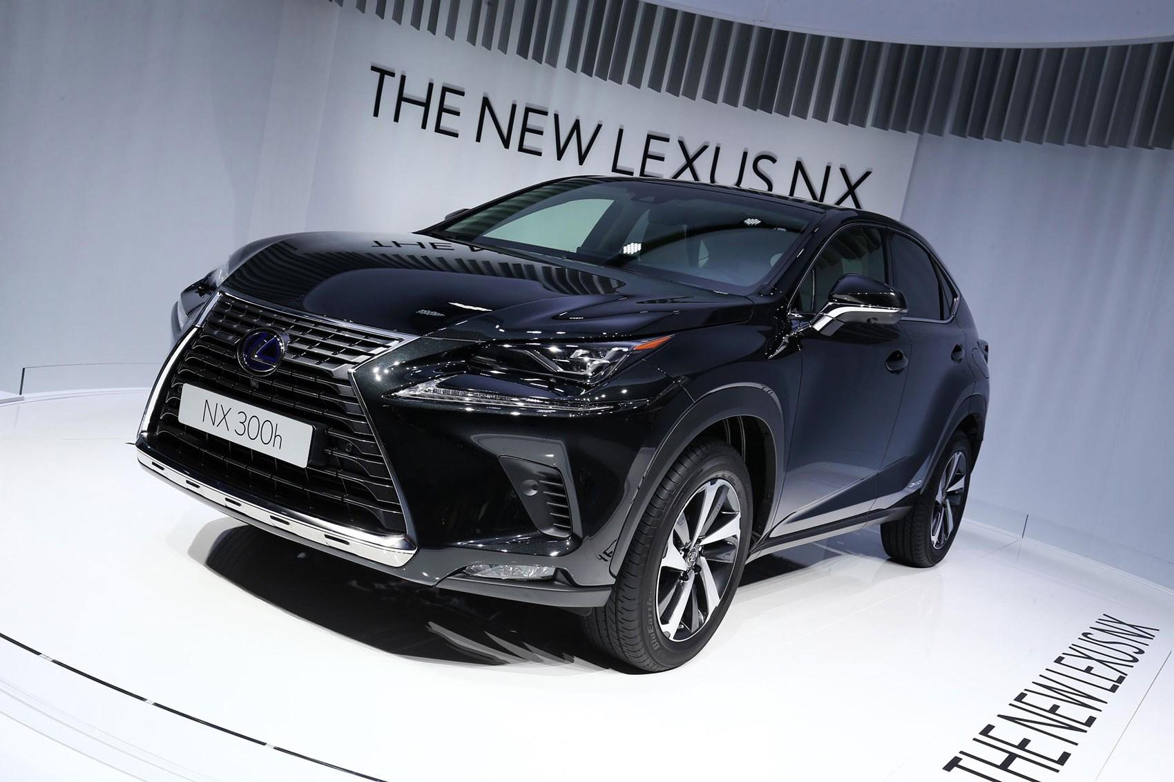 Lexus Nx Facelift At 2017 Frankfurt Motor Show Pictures Specs