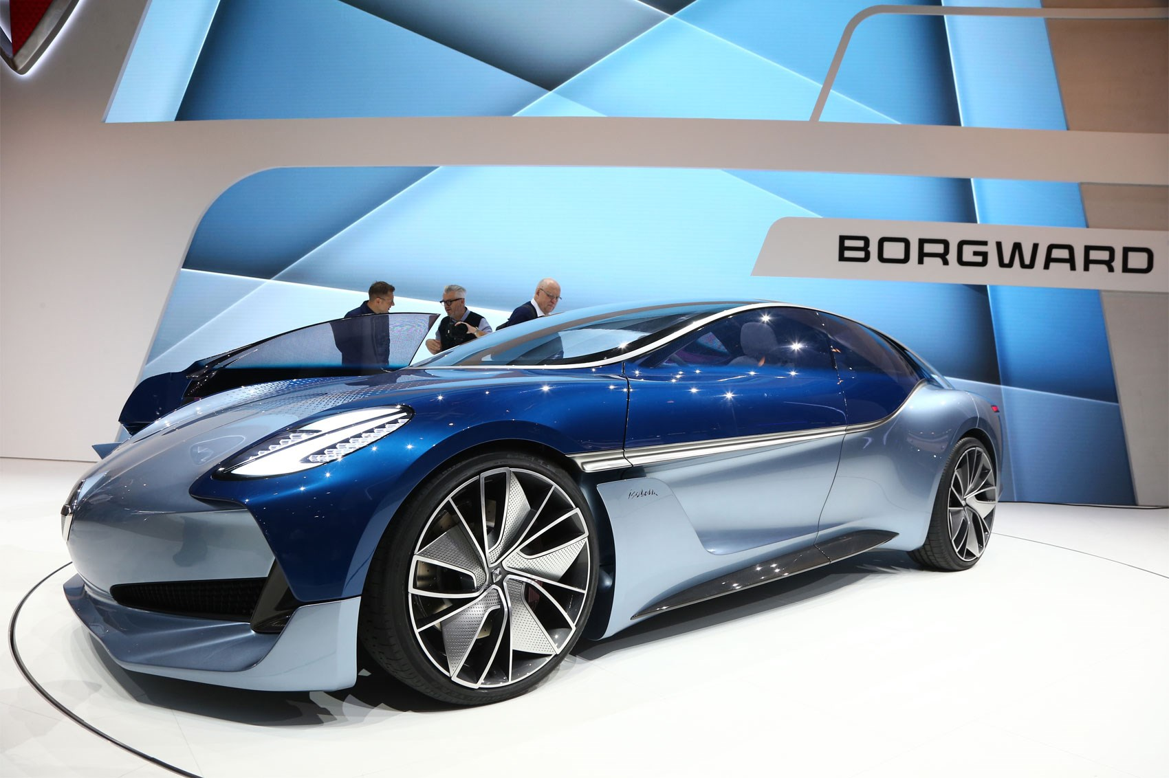 Borgward Isabella Sports Car Concept Electric Suv Reality Car