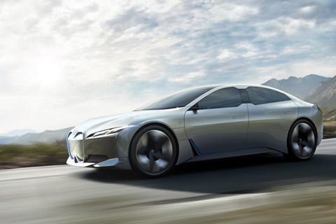 BMW i Vision Dynamics front tracking