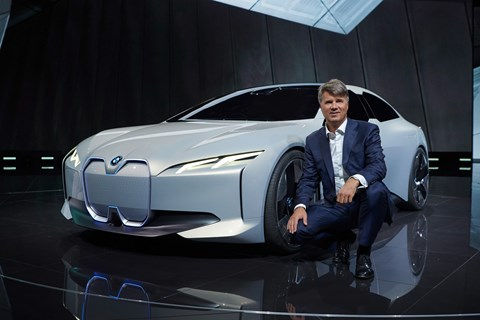 BMW i Vision Dynamics front show