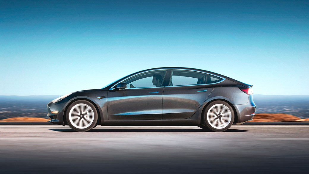 tesla model 3 review car magazine has snuck an early drive