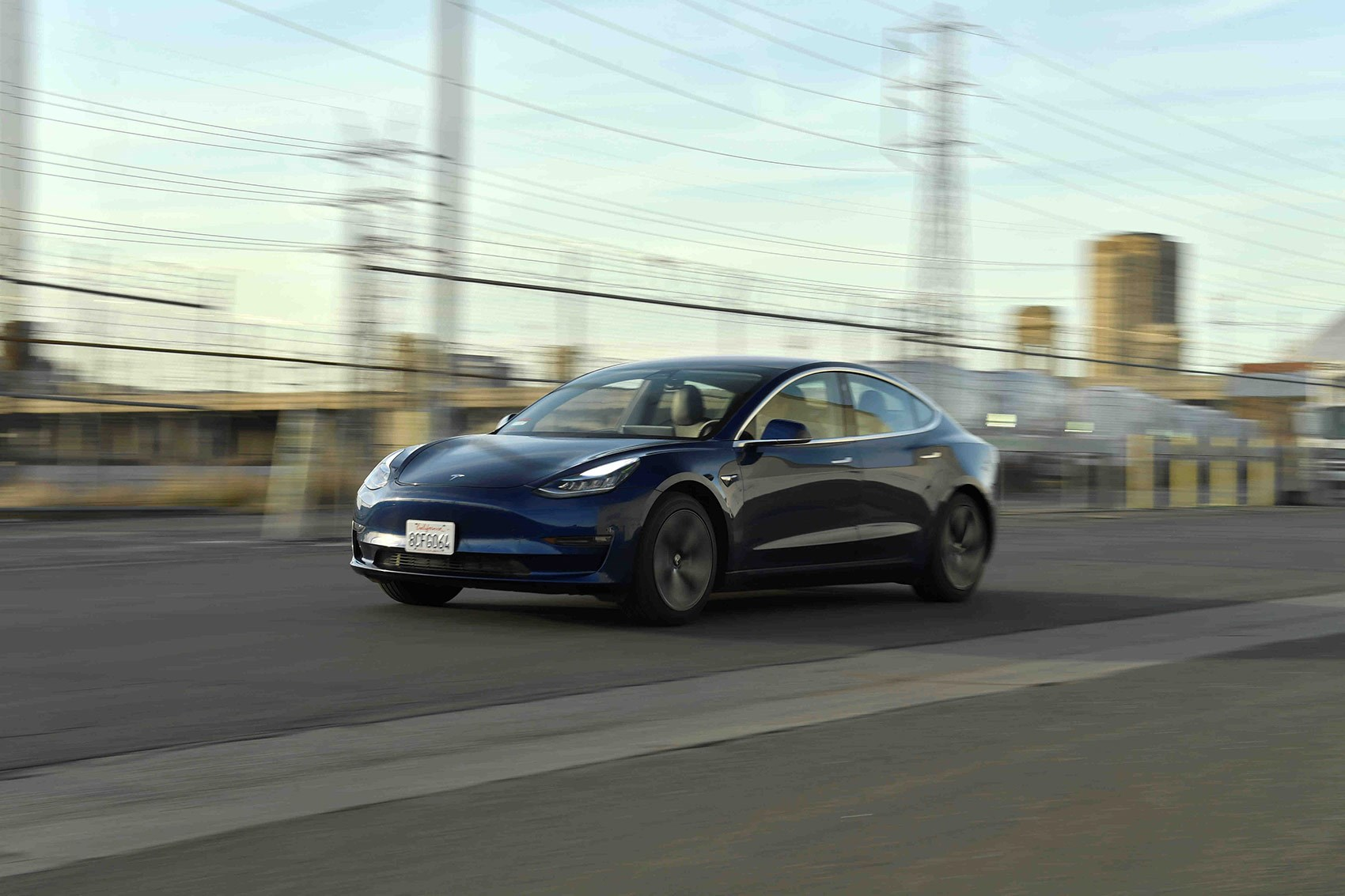 Tesla Model 3: CAR magazine UK's review, pictures by Jamie Lipman