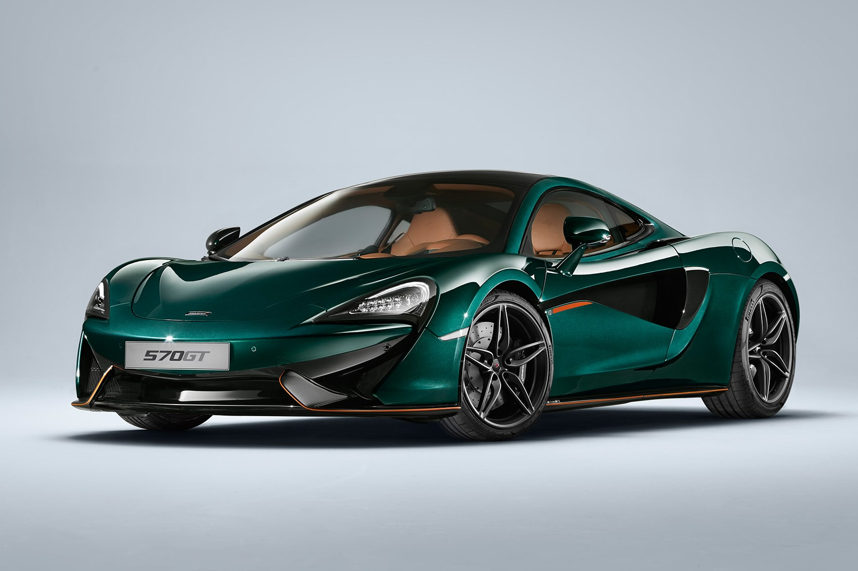 Green machines: McLaren's six 570GT MSO Collection cars in retro XP ...
