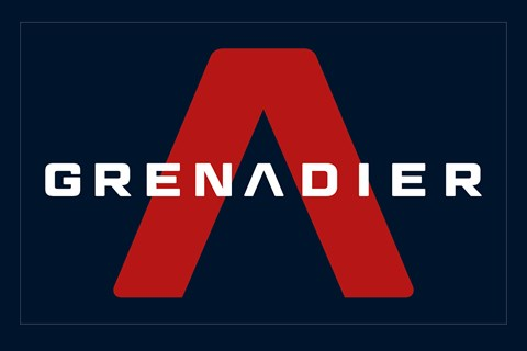 The Ineos Grenadier logo: the car will be shown in late 2020