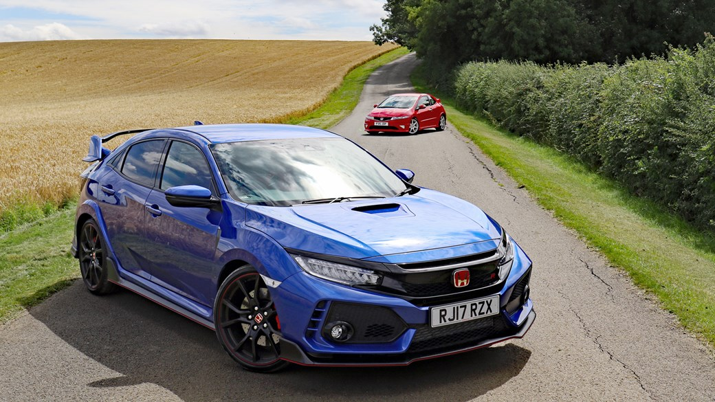 New meets old: 2007 Honda Civic Type-R FN2 and 2017 Type-R FK8