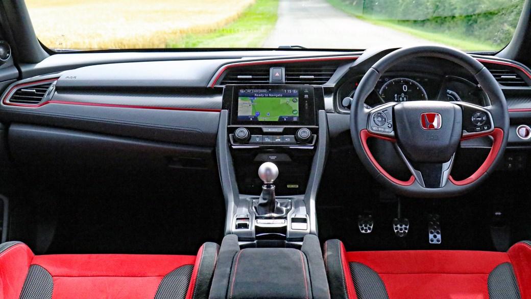 Inside the 2017 Honda Civic Type R