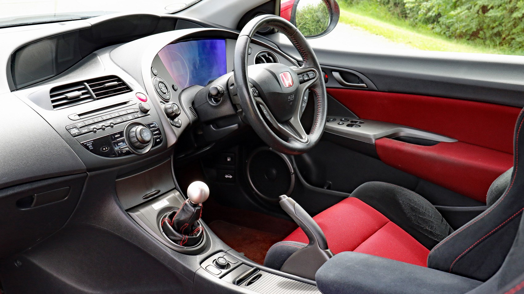 Inside The 2007 Honda Civic Type R ...
