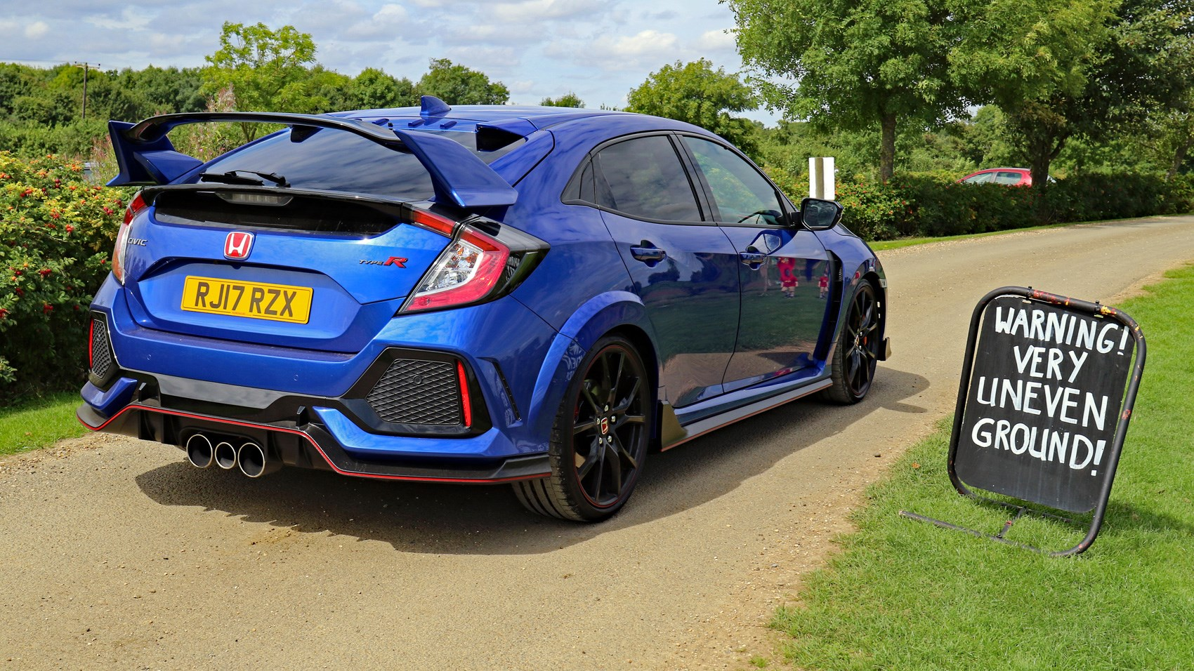 New meets old: 2007 Honda Civic Type-R FN2 and 2017 Type-R