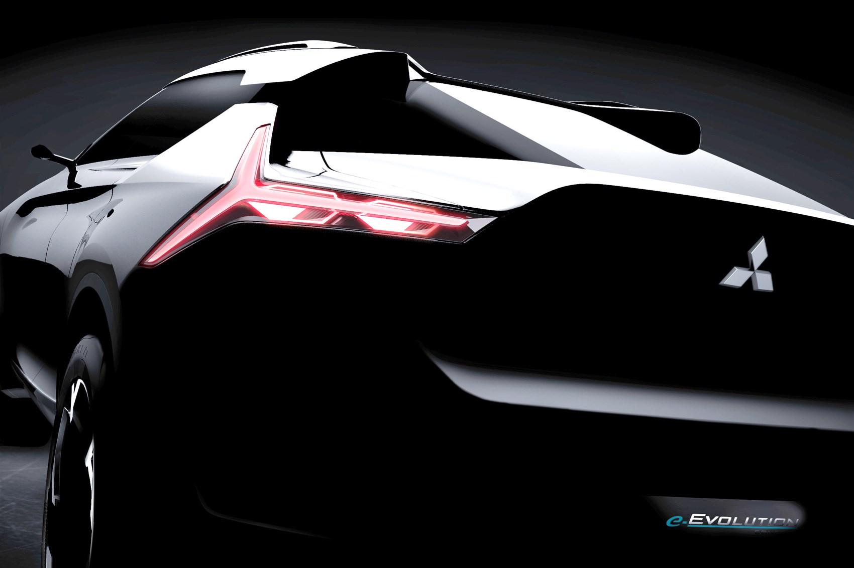 Mitsubishi E Volution Concept News Info Specs Details Pictures