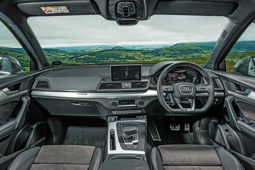 Alfa Romeo Stelvio Vs Volvo XC Vs Audi Q Triple Test Review CAR - Audi q5 interior