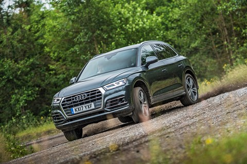 Audi Q5 mud drift