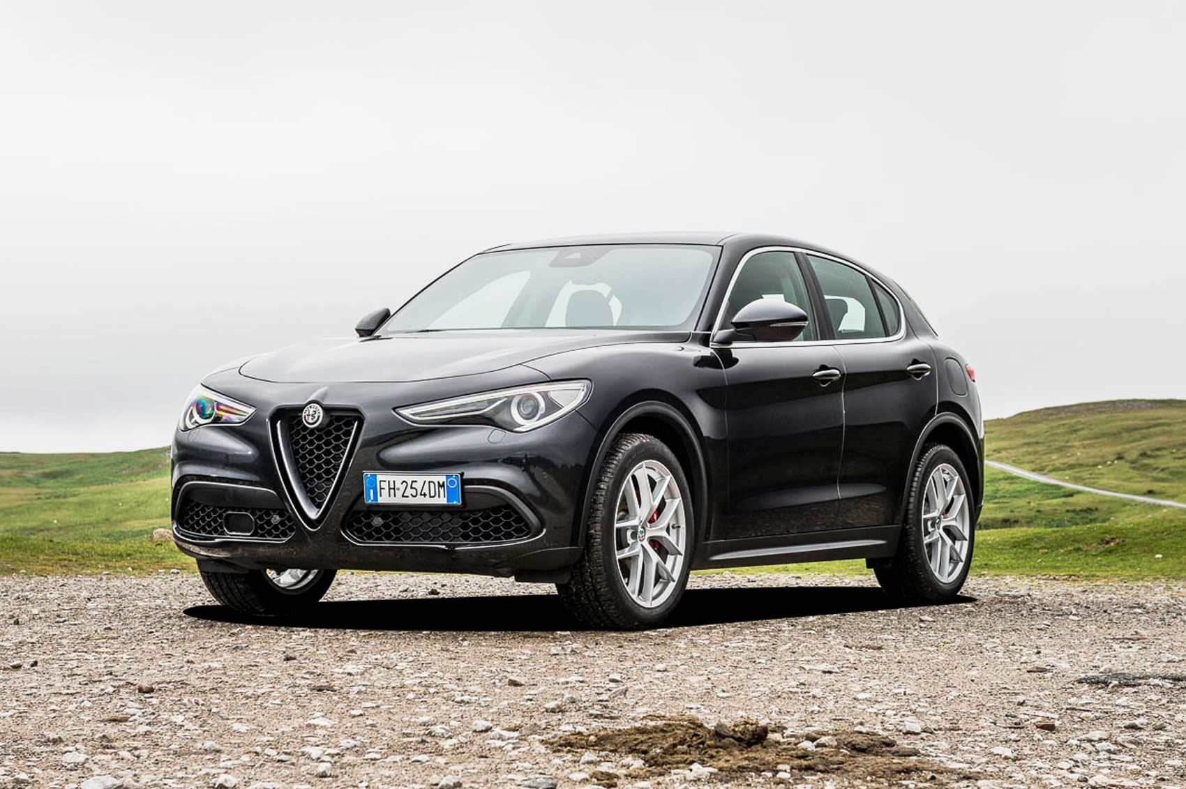 Alfa Romeo Stelvio vs Volvo XC60 vs Audi Q5 triple test review | CAR Magazine