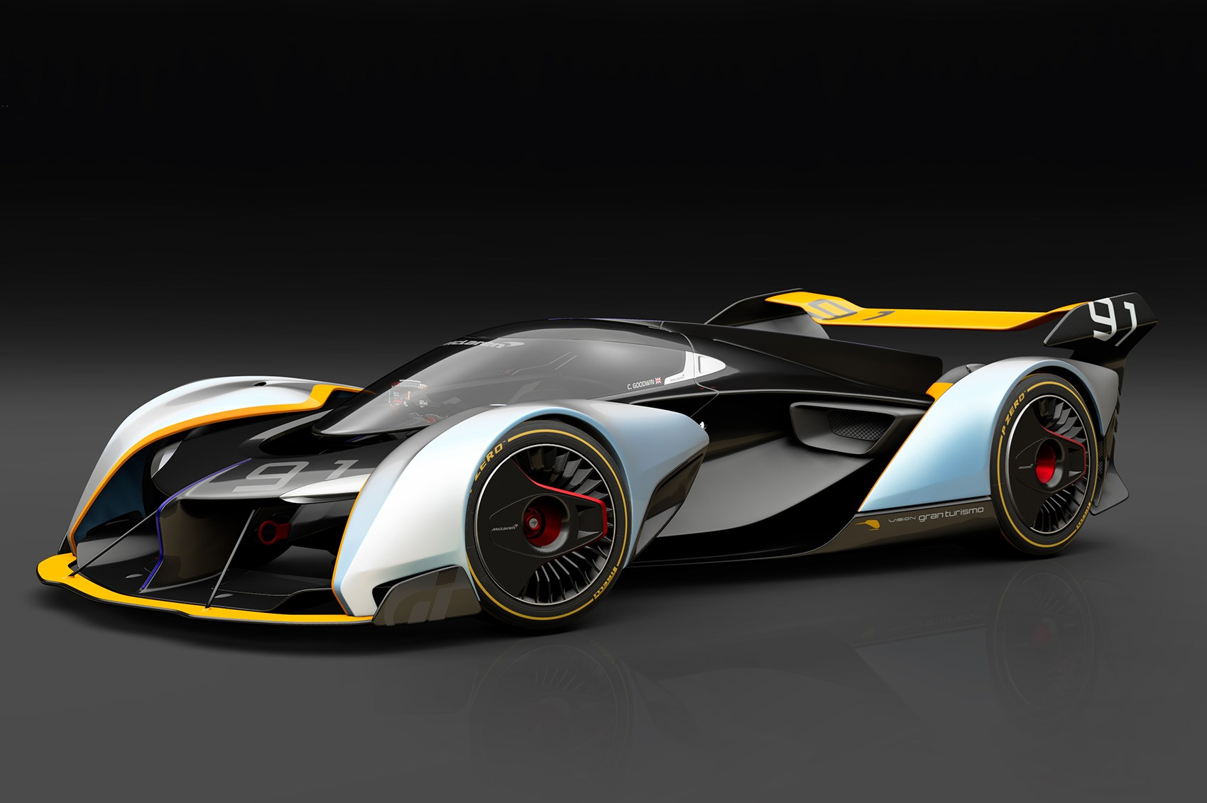 mclaren ultimate vision gran turismo concept 2017 for