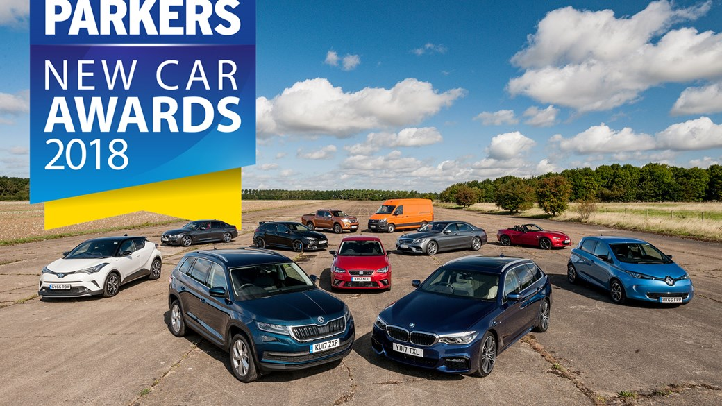 The Parkers New Car Awards 2018 winners are revealed