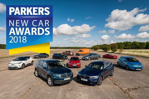 Parkers New Car Awards 2018: the winners
