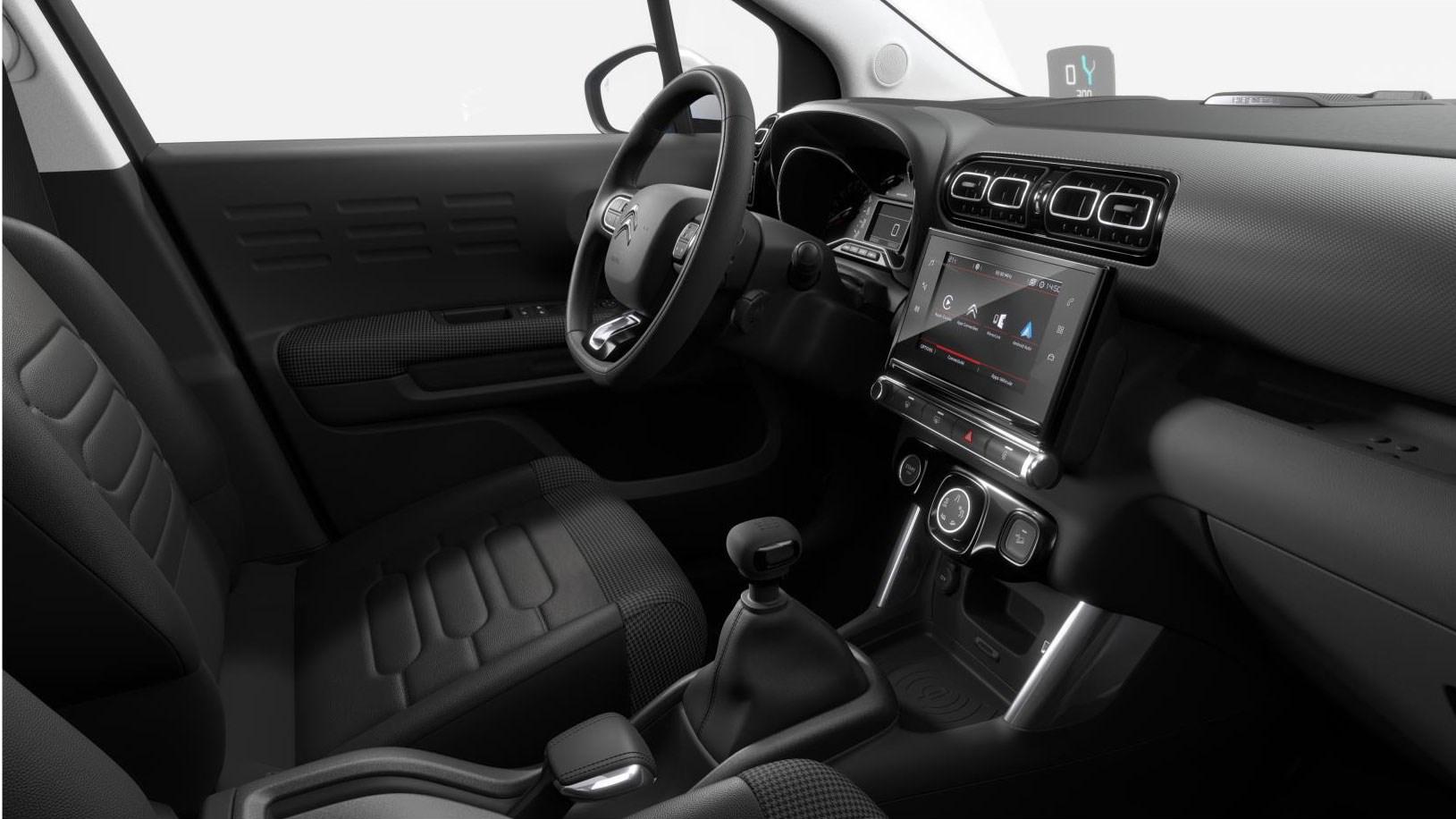 Citroen C3 Aircross interior: a comfort-biased cabin