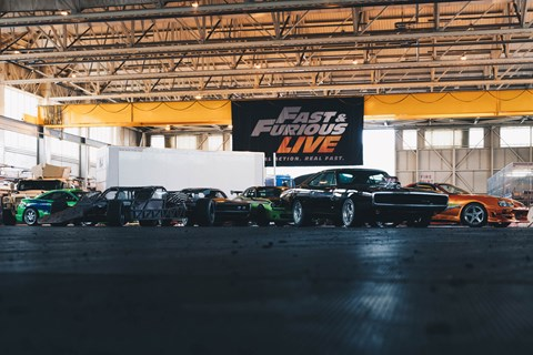 Fast and Furious Live car group