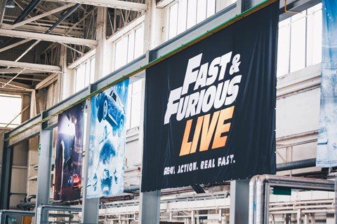 Fast and Furious Live banner