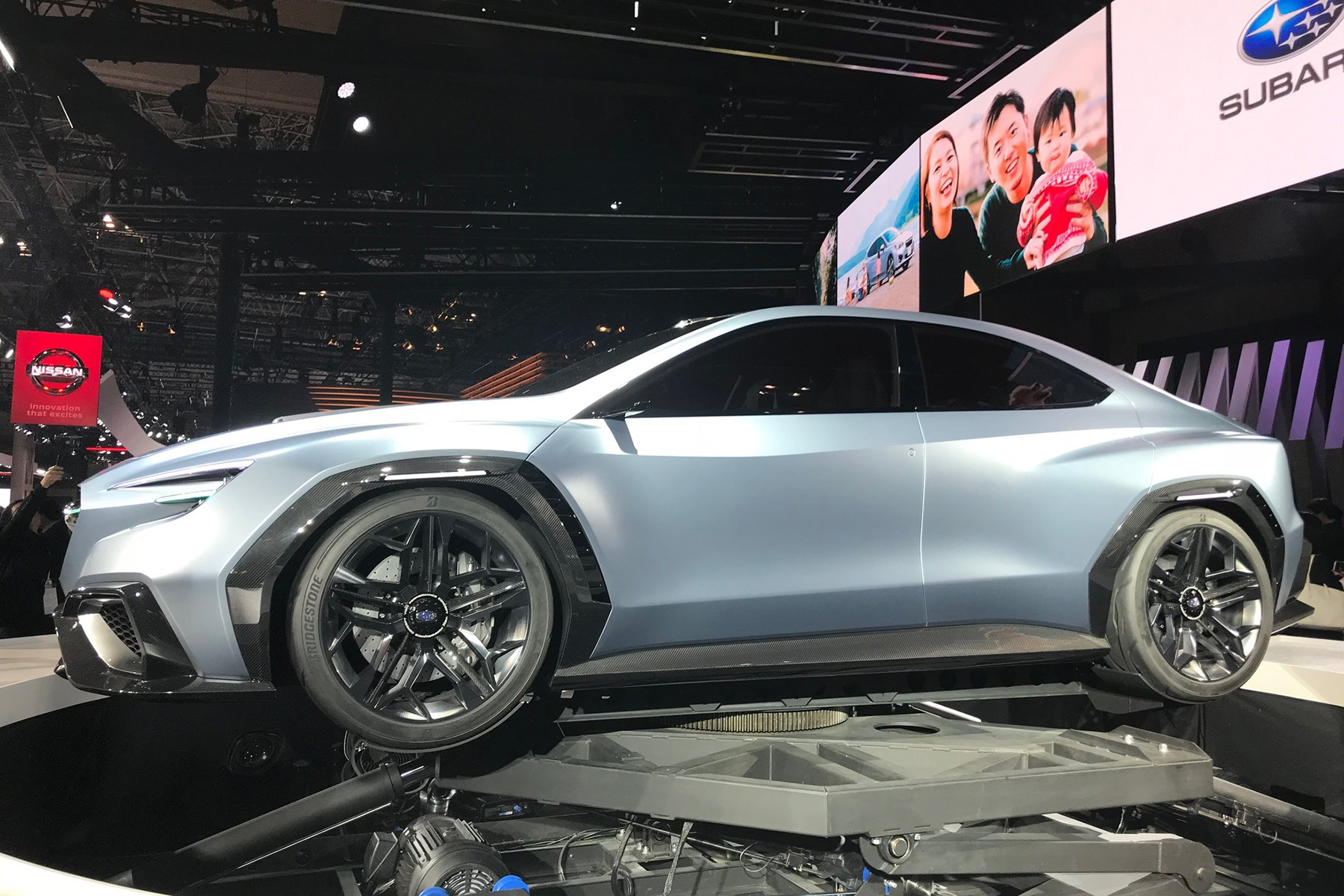 Subaru Viziv Performance Concept At Tokyo Motor Show CAR Magazine - Concept car show