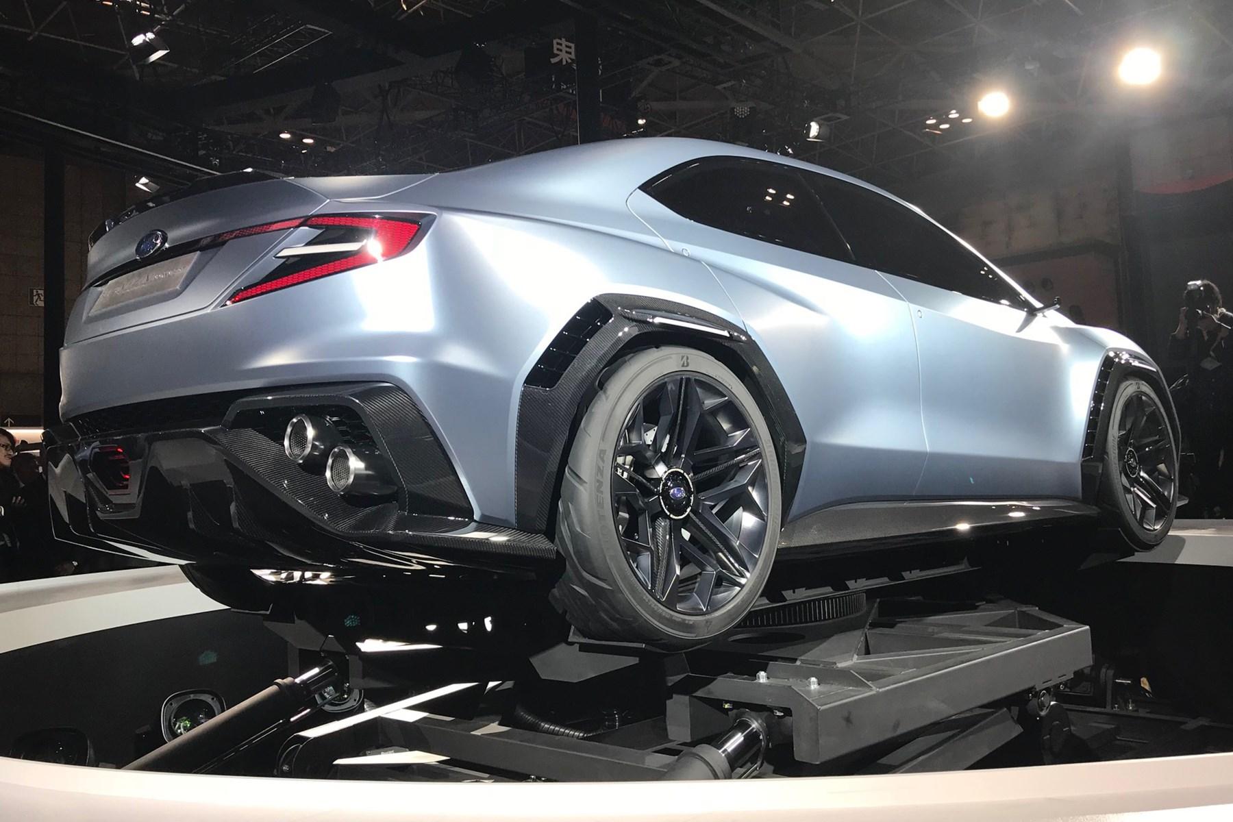 Subaru Viziv Performance Concept At Tokyo Motor Show Car