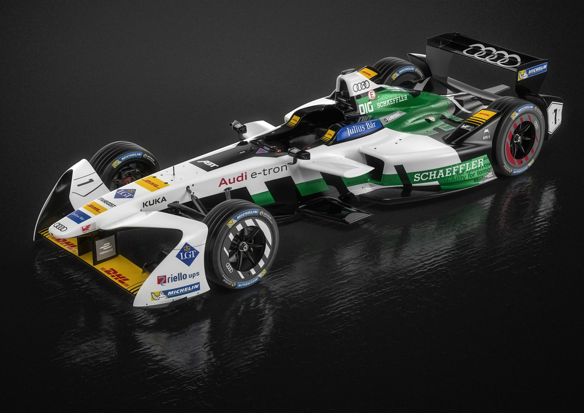 Audi Formula E car 2017-2018 first official pictures by CAR Magazine