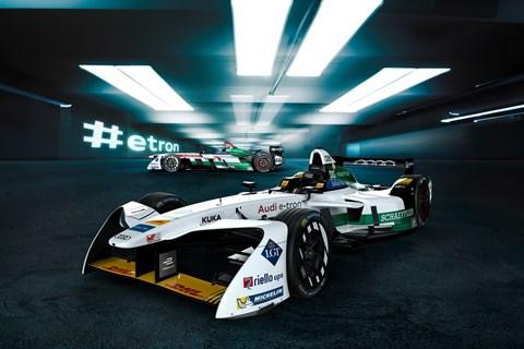 Audi Formula E car
