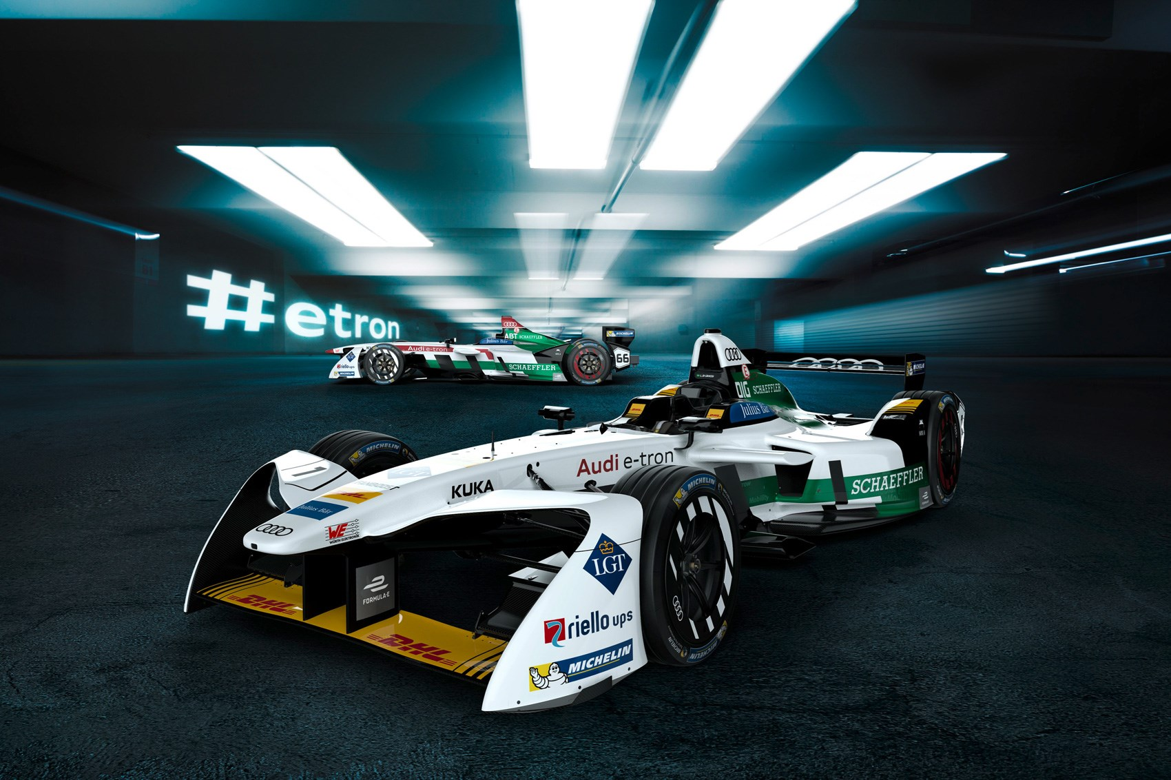 This Is Audi S First Official Formula E Car