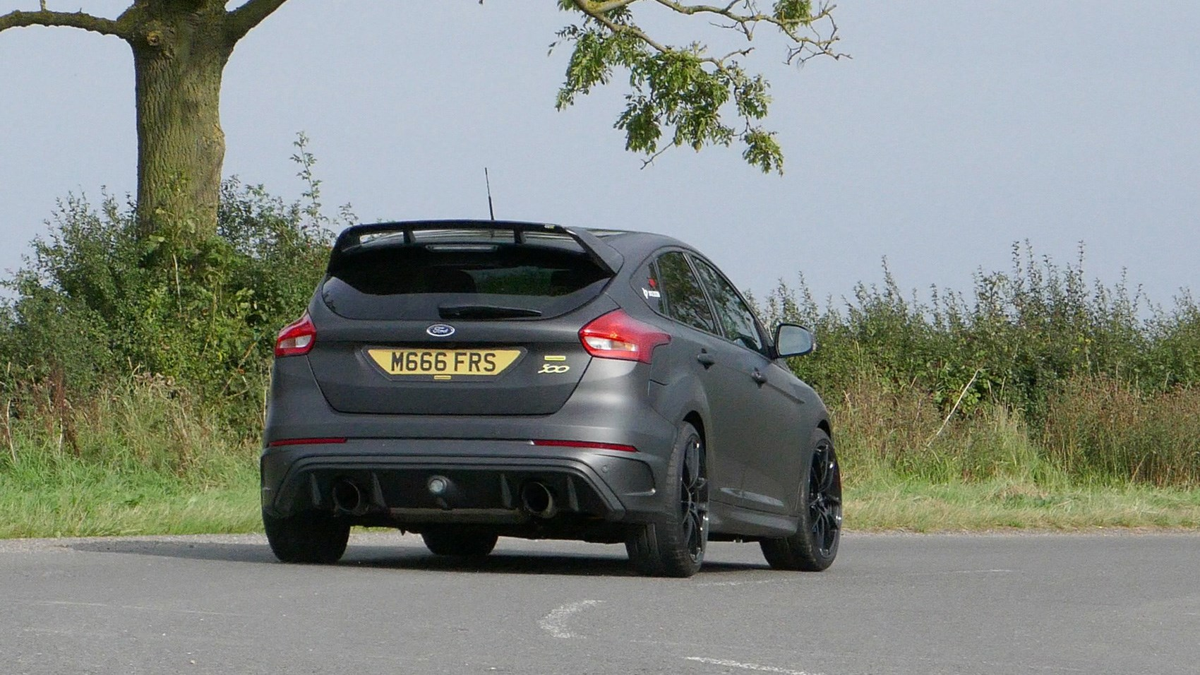 Ford Focus RS M400 Mountune rear cornering