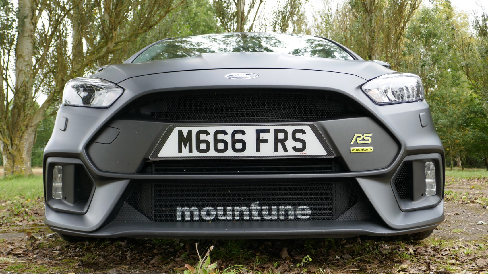 Ford Focus RS M400 Mountune front end
