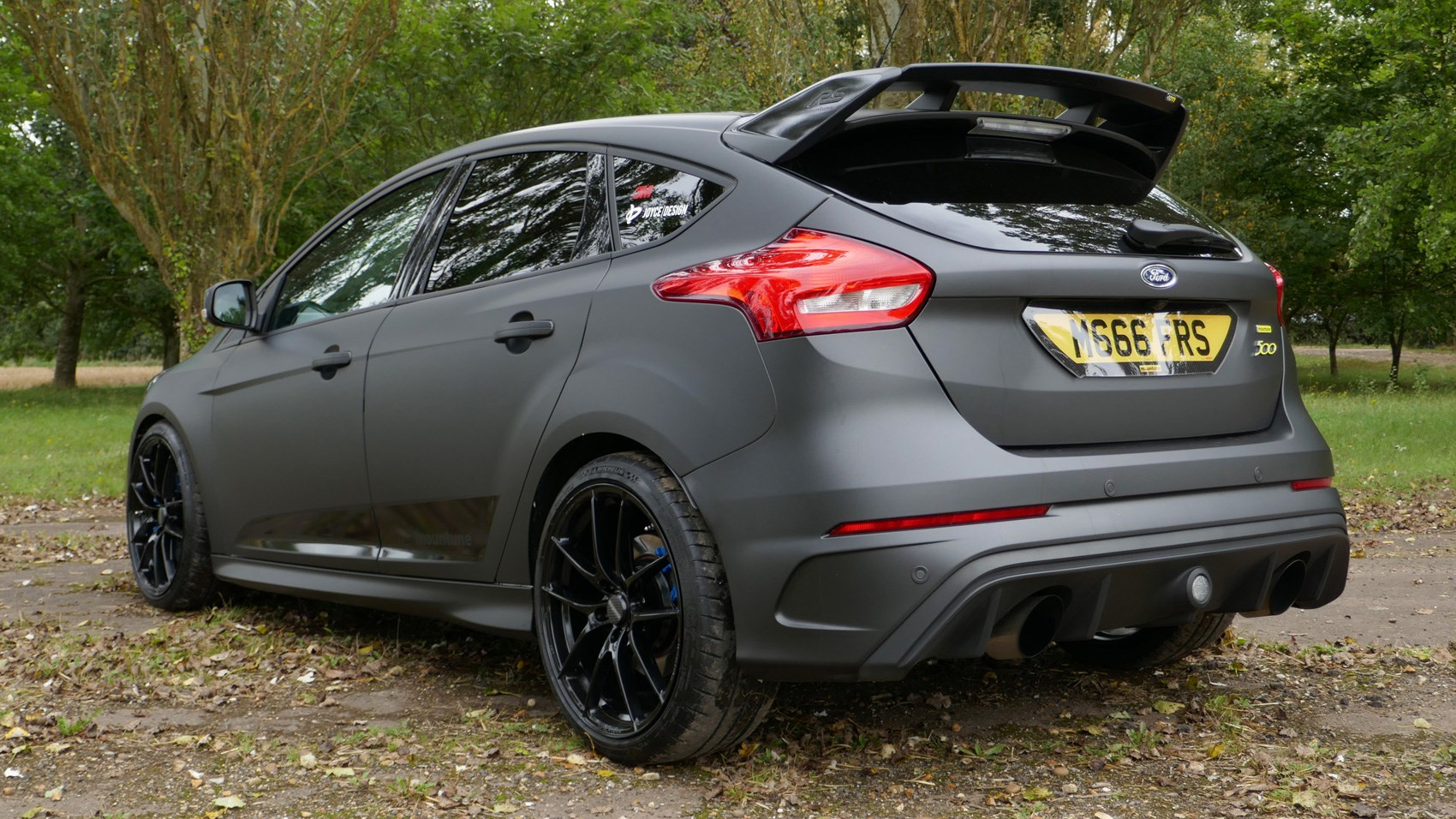 Ford Focus Rs M400 Mountune Rear Quarter