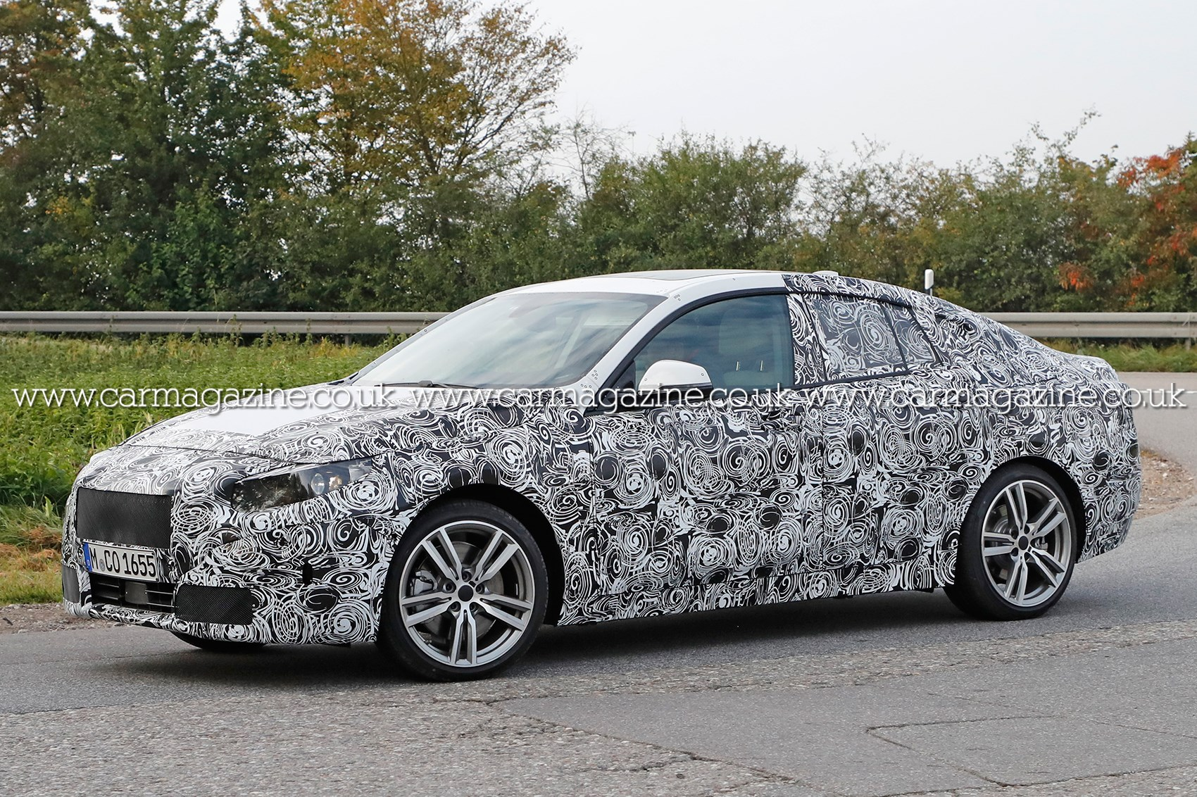 bmw 2 series gran coupe spyshots car magazine. Black Bedroom Furniture Sets. Home Design Ideas