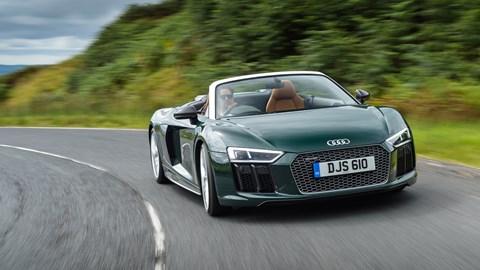 Audi R8 Spyder V10 Plus 2017 Review Car Magazine