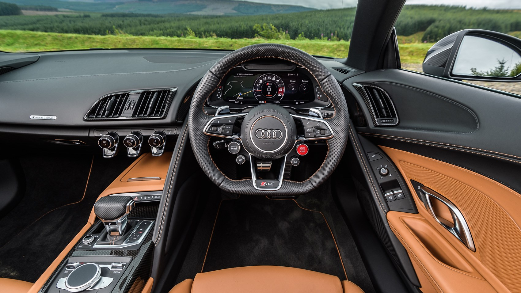 Audi R8 Spyder V10 Plus 2017 Review By Car Magazine
