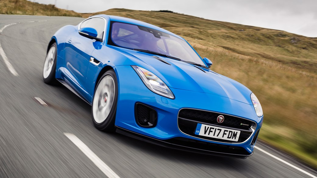 Jaguar F Type Coupe 4cyl (2017) Review