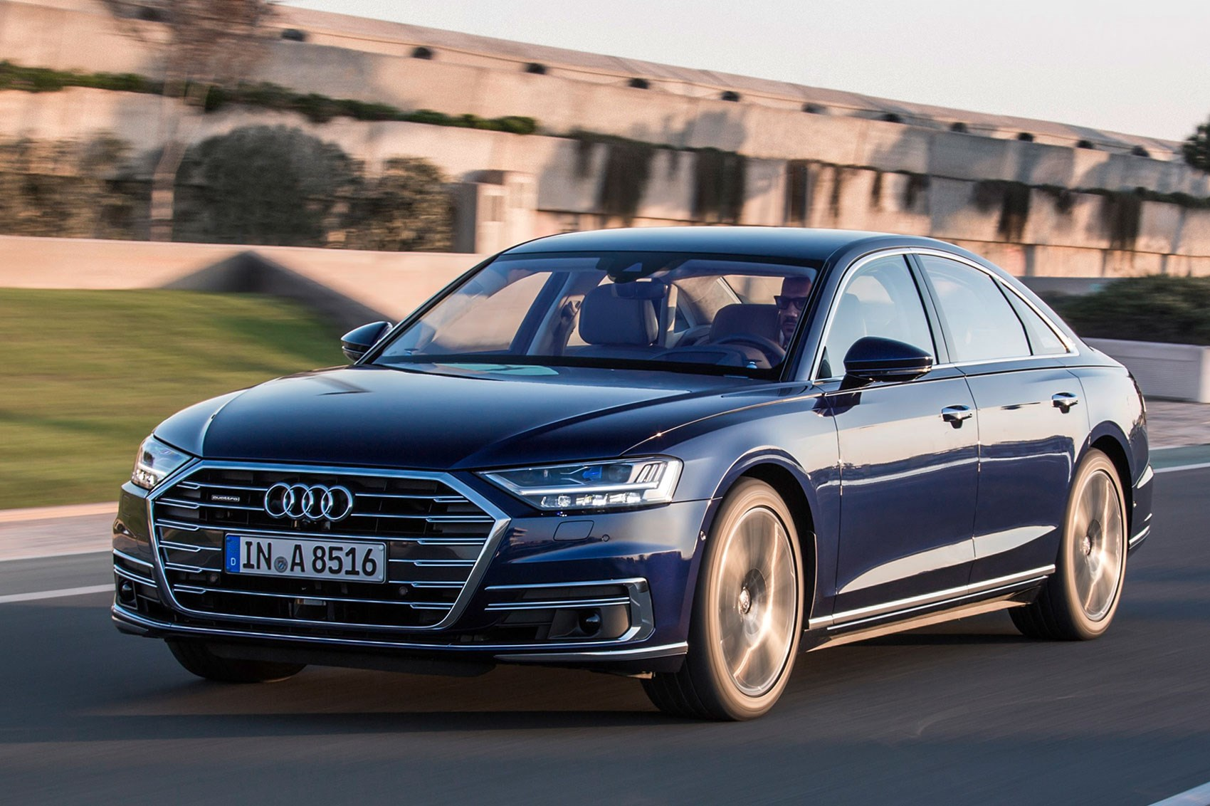 audi a8 2017 review by car magazine. Black Bedroom Furniture Sets. Home Design Ideas