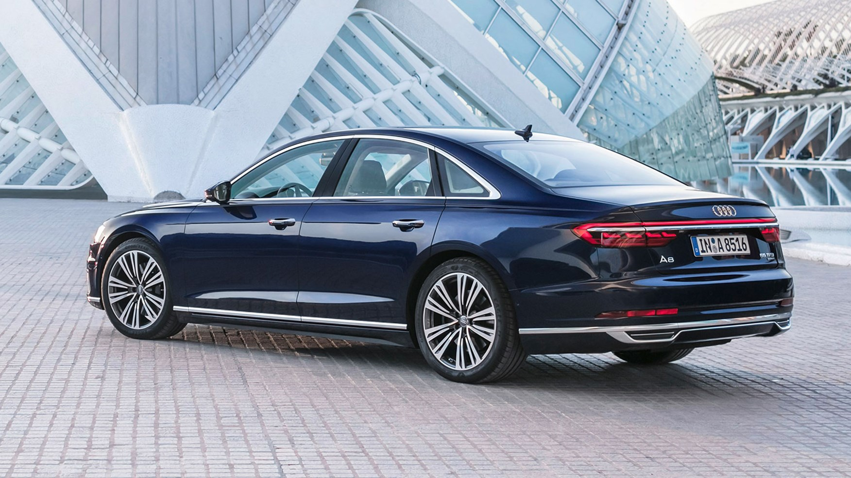 Audi A8 (2017) review by CAR Magazine