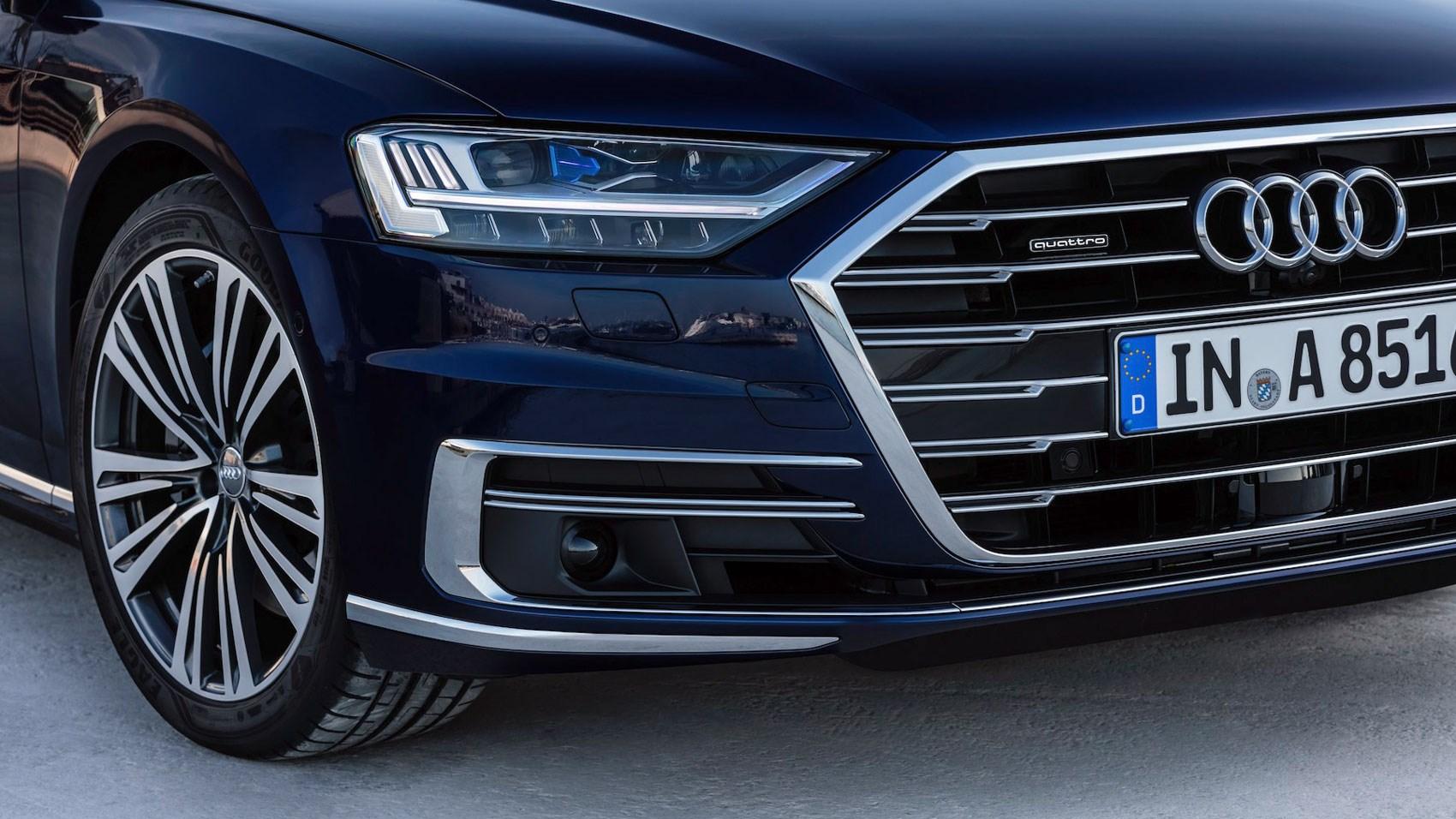 Audi A8 SWB wheel