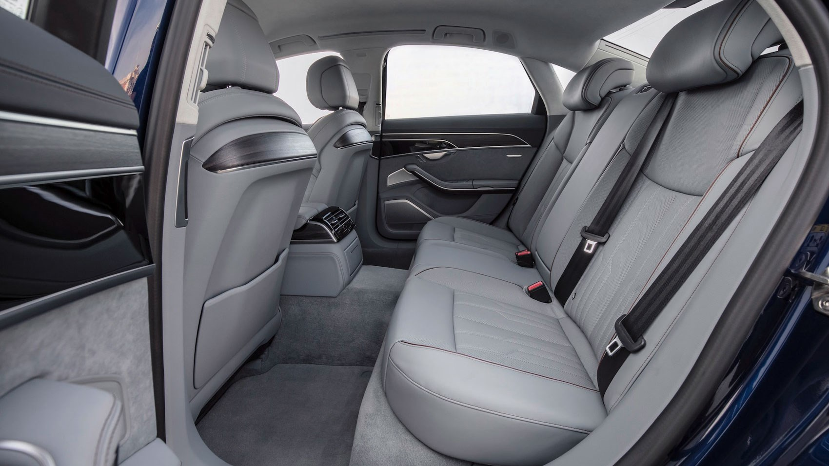 Audi A8 SWB rear seats