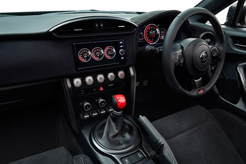 Toyota GR HV interior