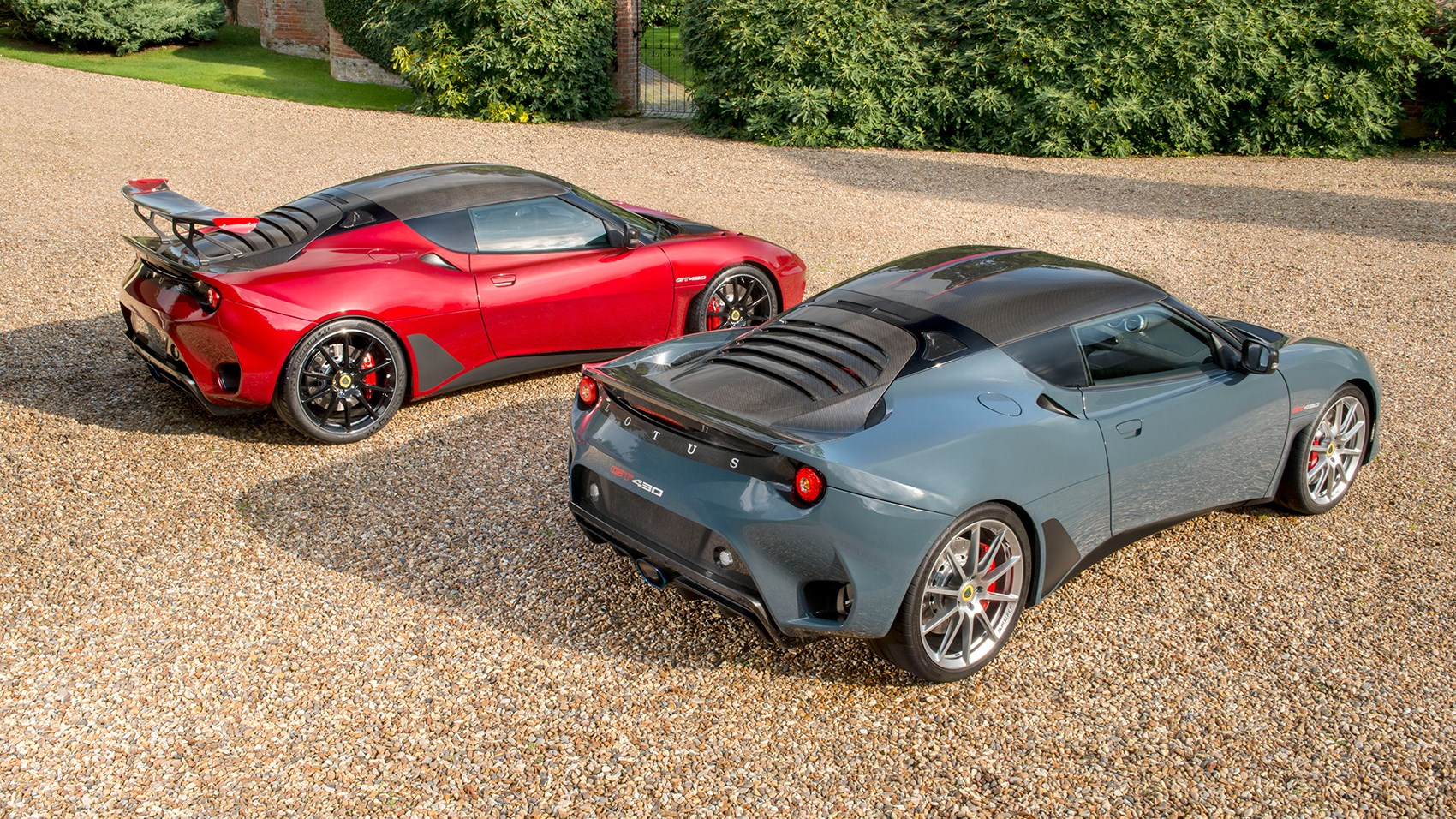 Lotus Evora GT430 and GT430 Sport
