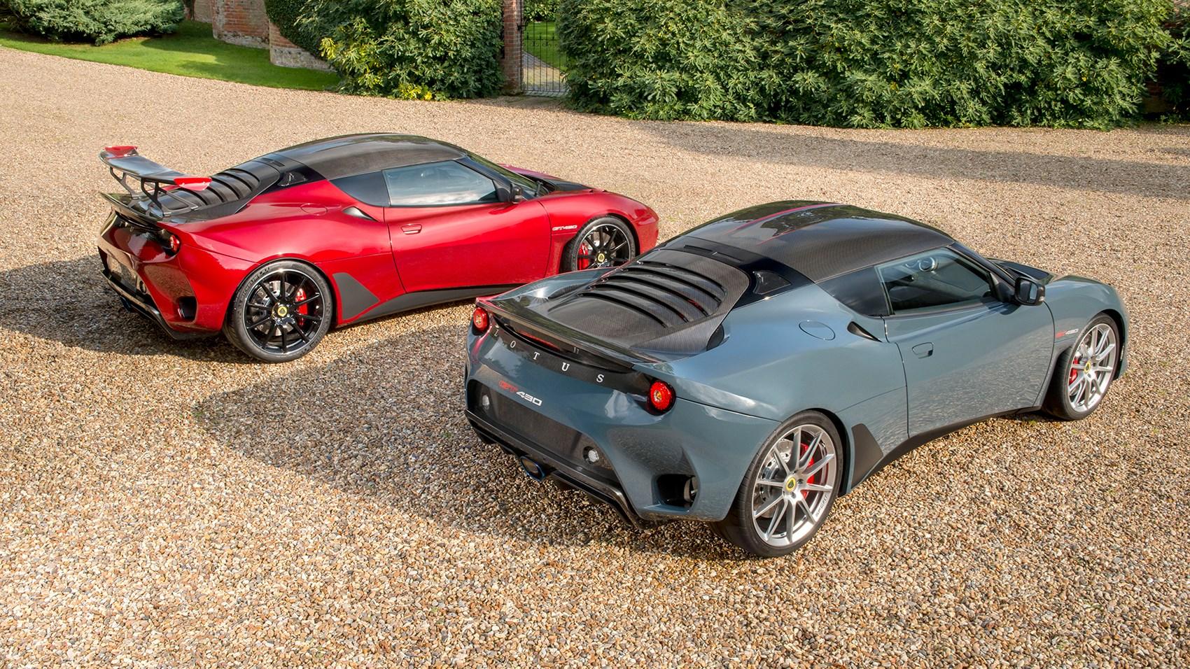 Lotus Evora GT430 and GT430 Sport