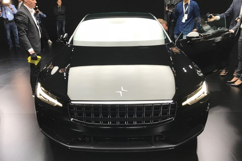 Polestar 1 front show