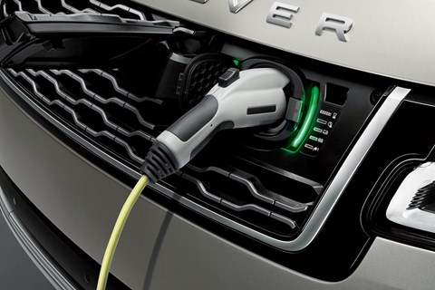 Range Rover MY2018 plug